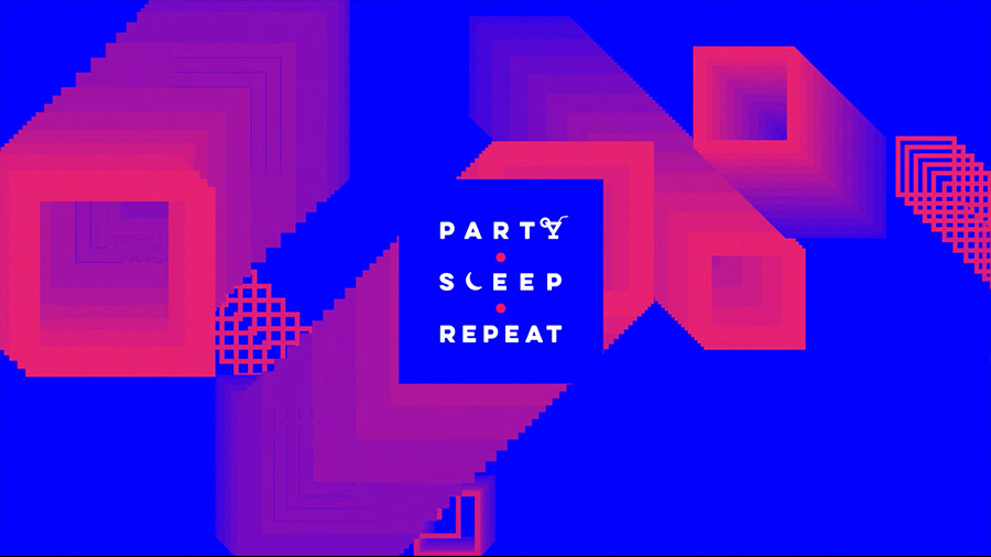 Party Sleep Repeat 2019